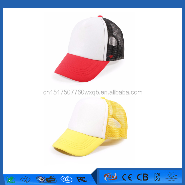 New design manufacturers baseball caps custom mesh running cap