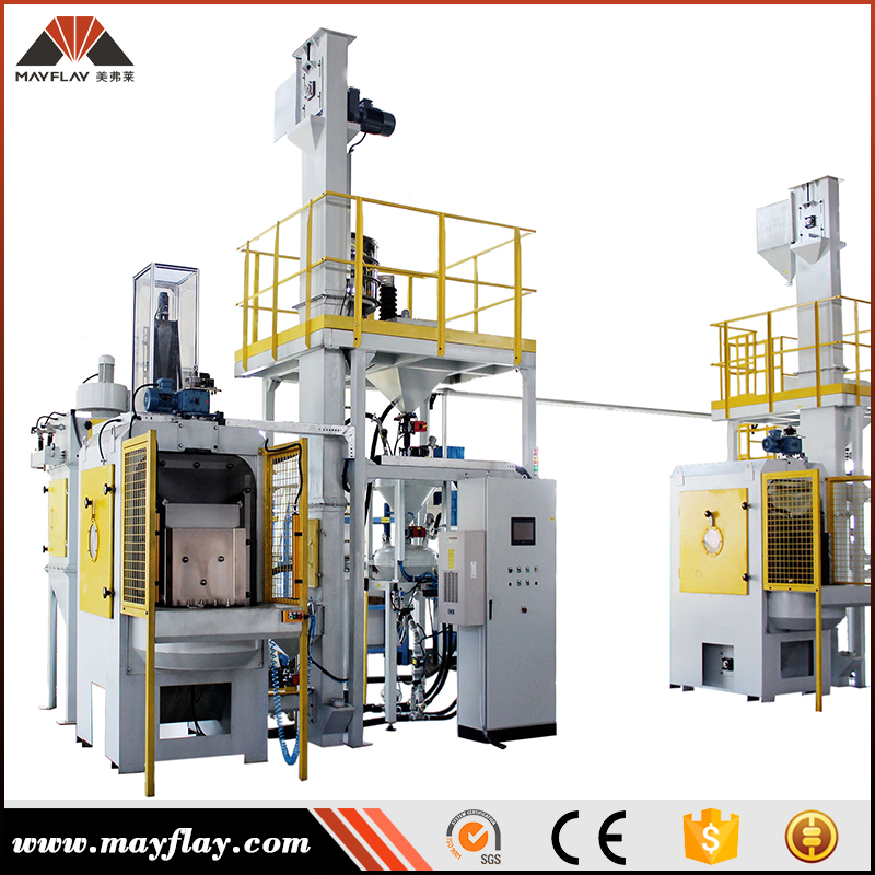 Mayflay General Industrial Equipment Overhead Rail Shot Blasting Machine