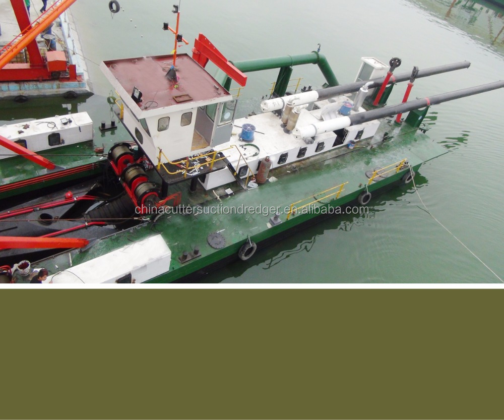 Qingzhou dredge equipment with dredger vessel sand mining dredger for sale