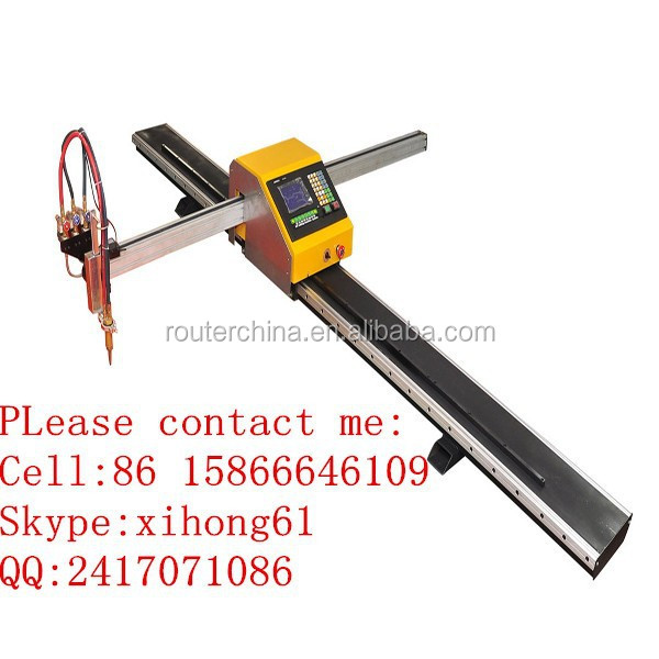 Portable Straight Line CNC Flame Cutting Machine System Plasma Cutting Machine