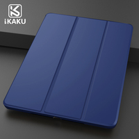 2018 newest arrival auto sleep/wake smart magnetic ultra slim lightweight back stand case smart magnetic flap cover for ipad min