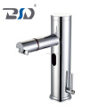 hot cold brass hand free automatic sensor water saving faucet