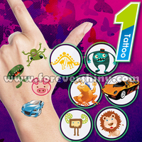 Custom Design Art Plastic Gashapon Egg Redemption Toys Paper Water Transfer Sticker Adhesive Temporary Tattoos with Capsule