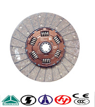 clutch parts 430 clutch disc AZ9725160390 for (AZ9725161390)Sinotruck Howo Truck parts