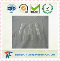 Plastic Wash Basin Pipe Transparent PVC Pipe 200mm Plastic Flexible Pipe