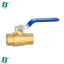 butterfly brass ball valve lock long stem
