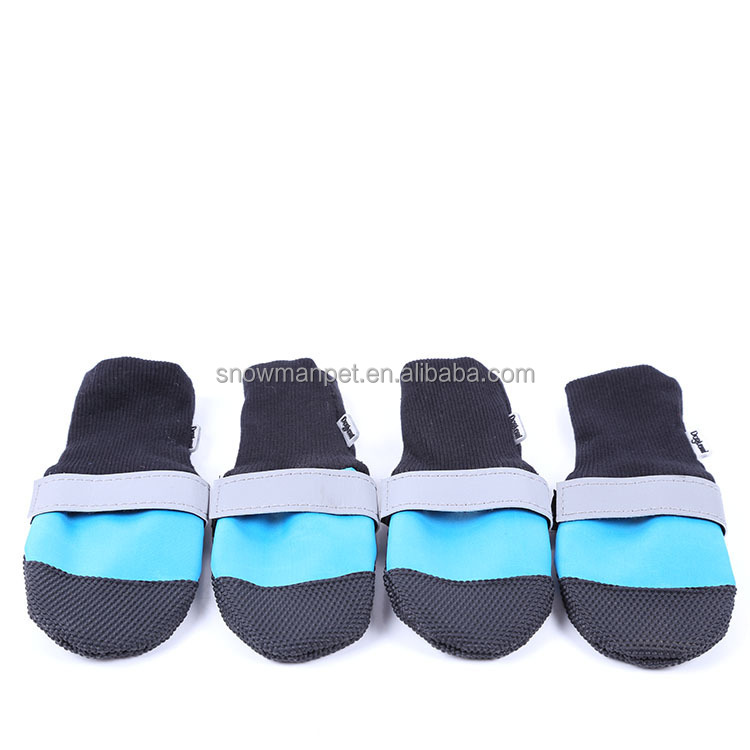 Wholesale Reflecting Anti-slip Waterproof Durable Dog Shoes Boots
