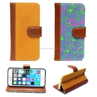 Fabric case for Apple iPhone 6, for iphone 6 case, pu case for iPhone 6