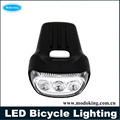 Front LED bicycle lighting with ABS material rechargeable LED bicycle lighting with best quality