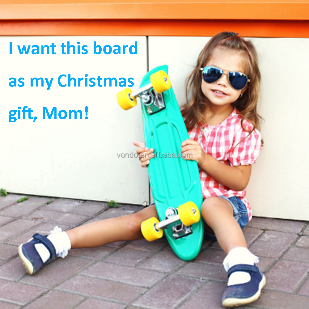 "Vondo Christmas Gift PayPal Complete 22"" Skateboard for Children"