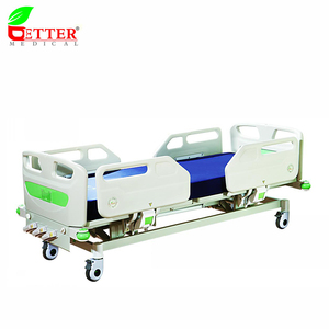 Manual Hospital Bed Three Functions Medical Bed for Patient