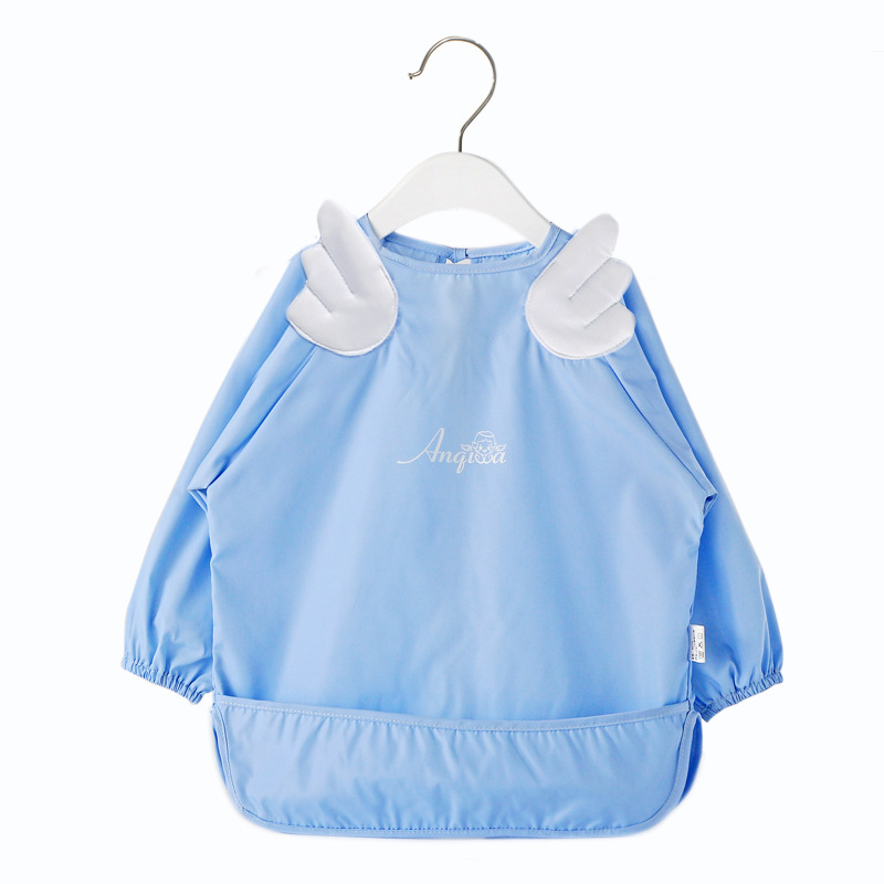 FS0203A 2018 wholesale baby drawing clothes baby overalls waterproof rompers
