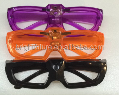Sound Activated Light Up Glasses