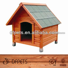Natural Wooden Dog Home DFD005