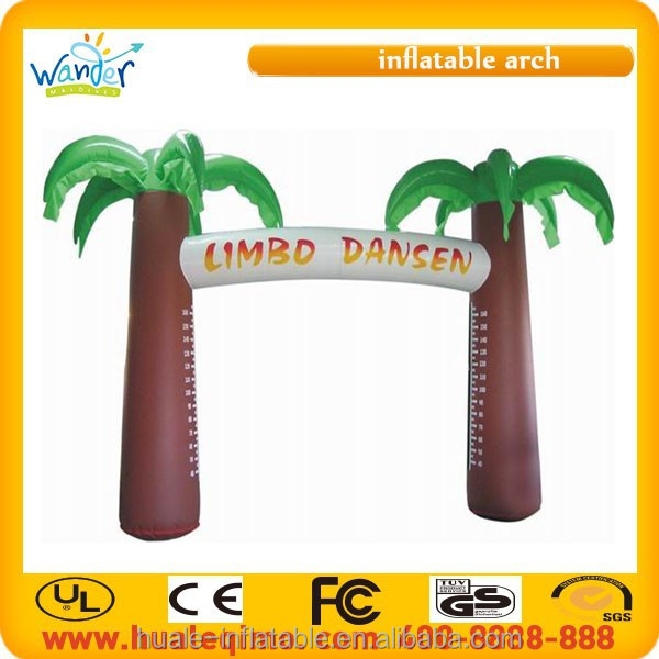2015 New arrival cheap advertising inflatable arch door model for sale