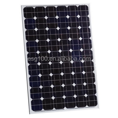 high effiency 130W Monocrystalline Solar Panel manufacture of china