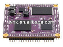 ChipSee-SOM335X AM3359 core module, ARM cortex A8 architecture AM3359 processor, DDR3