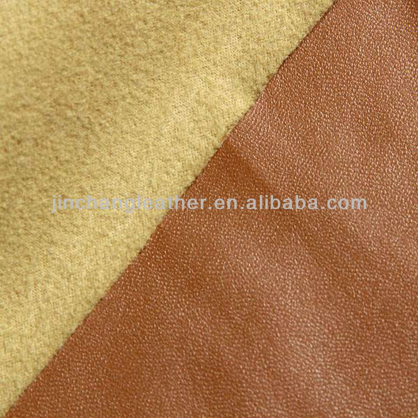 PU synthetic leather/PU leather/Artificial leather-Stretch nappa PU
