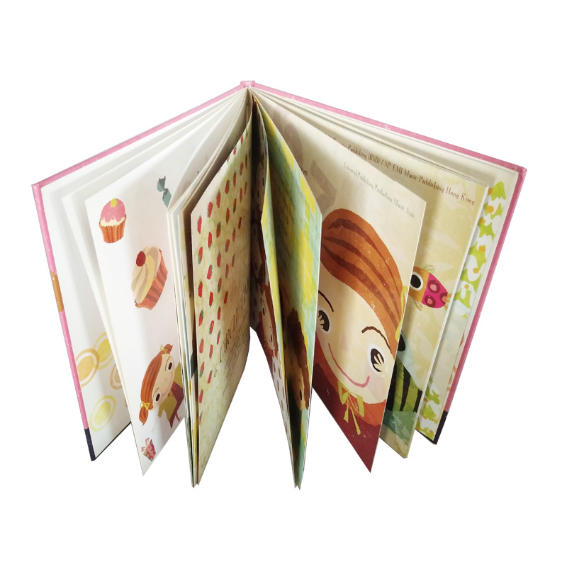 High Quality Full Color Printing Customized Size children Book