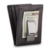 Bifold front pocket slim metal wallet mens money clip wallet