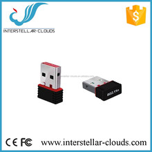 150Mbps 2.4g mini high speed wifi booster LAN 802.11b/g/n mobile broadband internet usb adapter