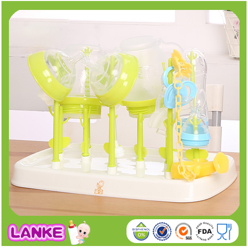 New Food Grade PP Baby Feeding Bottle Grass Drying Rack