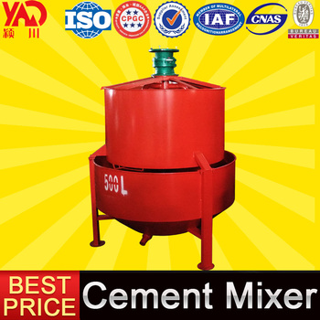China Suppliers Concrete Cement Agitated Site Grout Paddle Mixer