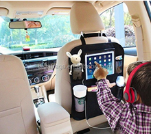Tablet Holder with Car Seat Organizer