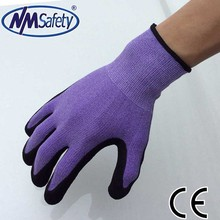 NMSAFETY personal protective equipment safety construction glove nitrile