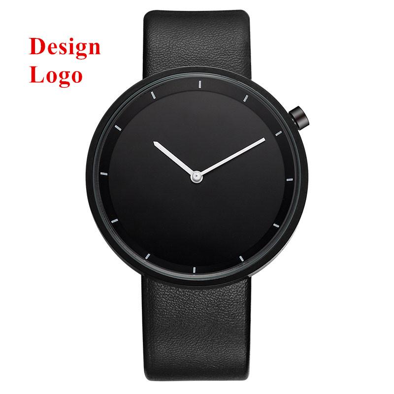 watches men custom blank face design your own watch no logo图片