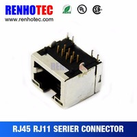 Networking connection Application and Male Gender rj45 rj11 connector