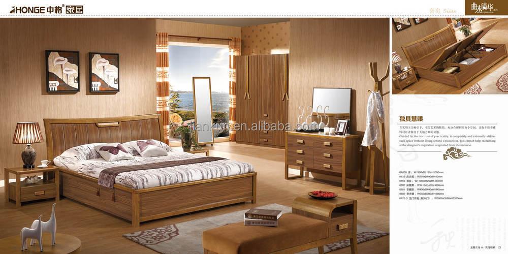 6105 mdf space saving bedroom furniture made in vietnam for Bedroom furniture 2017 in pakistan