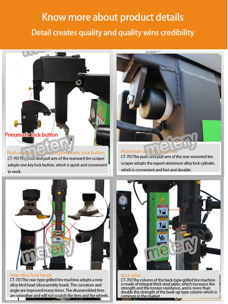 Car tire repair equipment/tire changer fully automatic Tyre dismantled machine