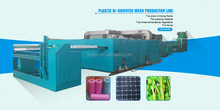 pp plastic square stretch net extruder plastic machine