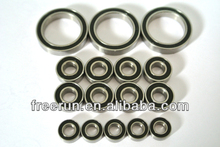 High Performance DURATRAX LXT GAS CONVERSION steel bearing kits with different rubber seal color