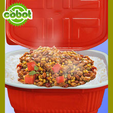 2014 Instant Rice Pack Chicken Flavor Self-heating Meal, HALAL Quick Cooked Rice