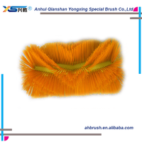Wholesales many color small broom sweep brush rotating brush sweeper Large tractor mounted hydraulic broom