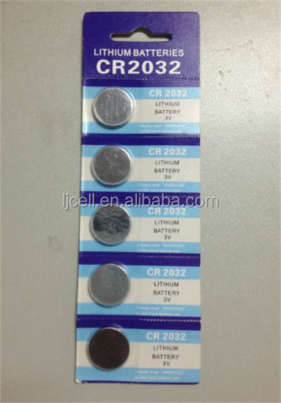 3 volt cr2032 lithium coin cell battery cr2032 with wholesale price