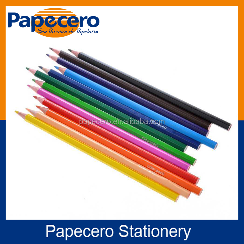 School Stationery Multi Color Pencil Set 48 colors