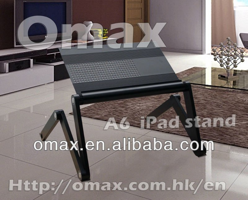 2013 universal laptop floor stand ,portable folding laptop desk