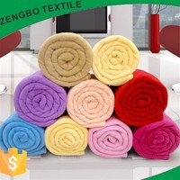 whosaler cheap coral fleece blanket with super soft handfeel made in keqiao textile city