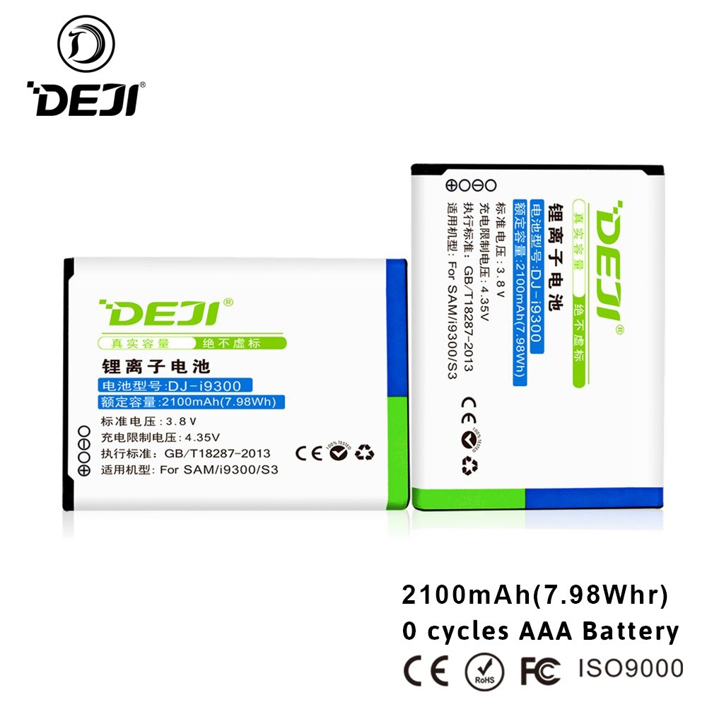 Hot selling battery for mobile phone Samsung li-ion batteries for samsung s3 battery
