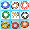 428/520 Motorcycle Transmission Parts Aluminum Rear Sprocket Kit for OFF Road Bike