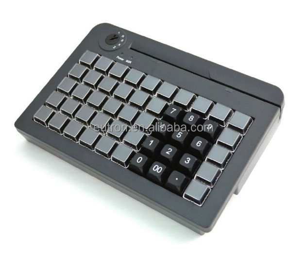 2015 good price programing usb pos keyboard, metal pos keyboard