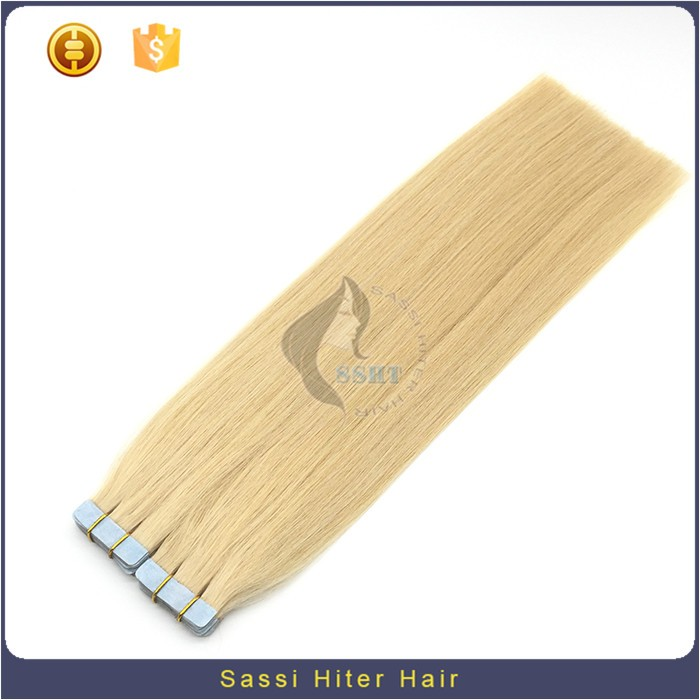 New Style Tape Hair Extensions 100 Remy Human Hair Wavy