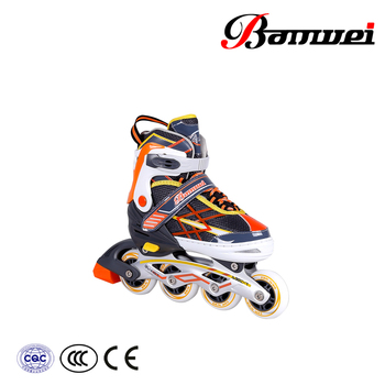 Made in ningbo good material new design pu wheel BW-160 inline skates