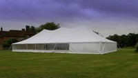 Curved Ridge Design Marquee Tent by Shade Systems EA Ltd