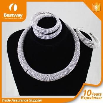 Bestwaytex Hot Wholesale Price African Traditional Jewelry Latest African Jewelry Set African Jewelry EF0058-1