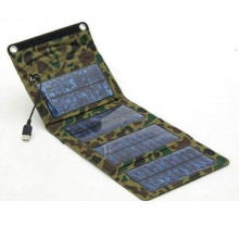 NEW! Frosted Waterproof 7Watt 5V Folding Solar Panel Charger USB Controller Charger for iPhone Samsung Phones PSP MP4