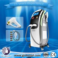 Best result brand new skin care 2012 hot sale 3 in 1 e-light for hair removal